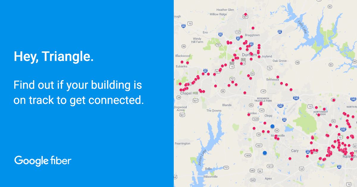 Find an Apartment with Google Fiber in Raleigh-Durham